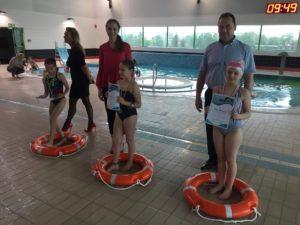Zawody pływackie LUBIMY PŁYWAĆ - zdjęcie uczestników