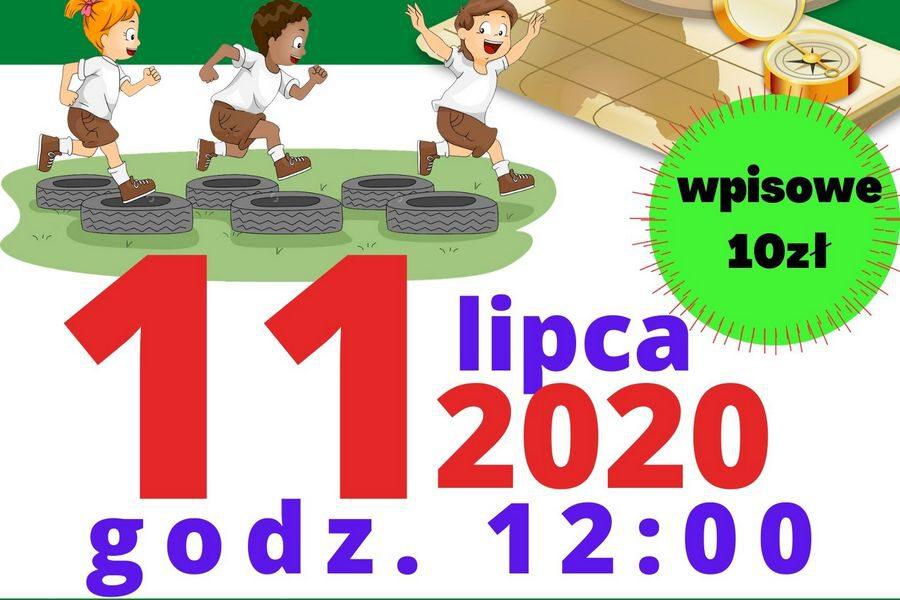 Rodzinny Bieg na Orientację z Przeszkodami 11 lipca 2020 r., godz.12:00 Zapisy: https://elektronicznezapisy.pl/event/4987/strona.html lub osobie w Biurze MOS ul. Łąkowa 1. Wpisowe: 10zł, Limit: 60 osób.